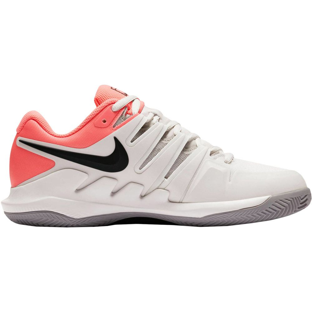 Nike Air Zoom Vapor X Clay Tennisschuhe Damen grau pink