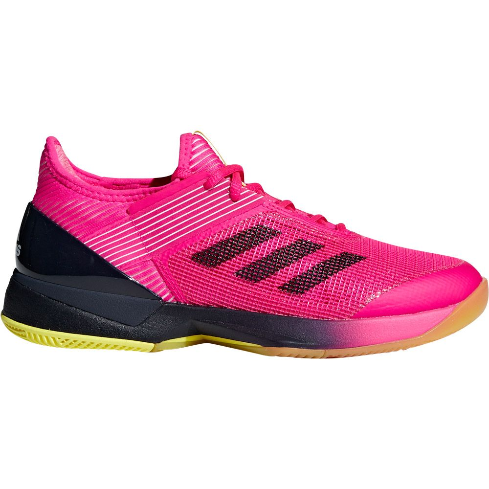 newest b755e 3651c adidas Adizero Ubersonic 3.0 Tennis Shoes Women shock pink legend ink  footwear white