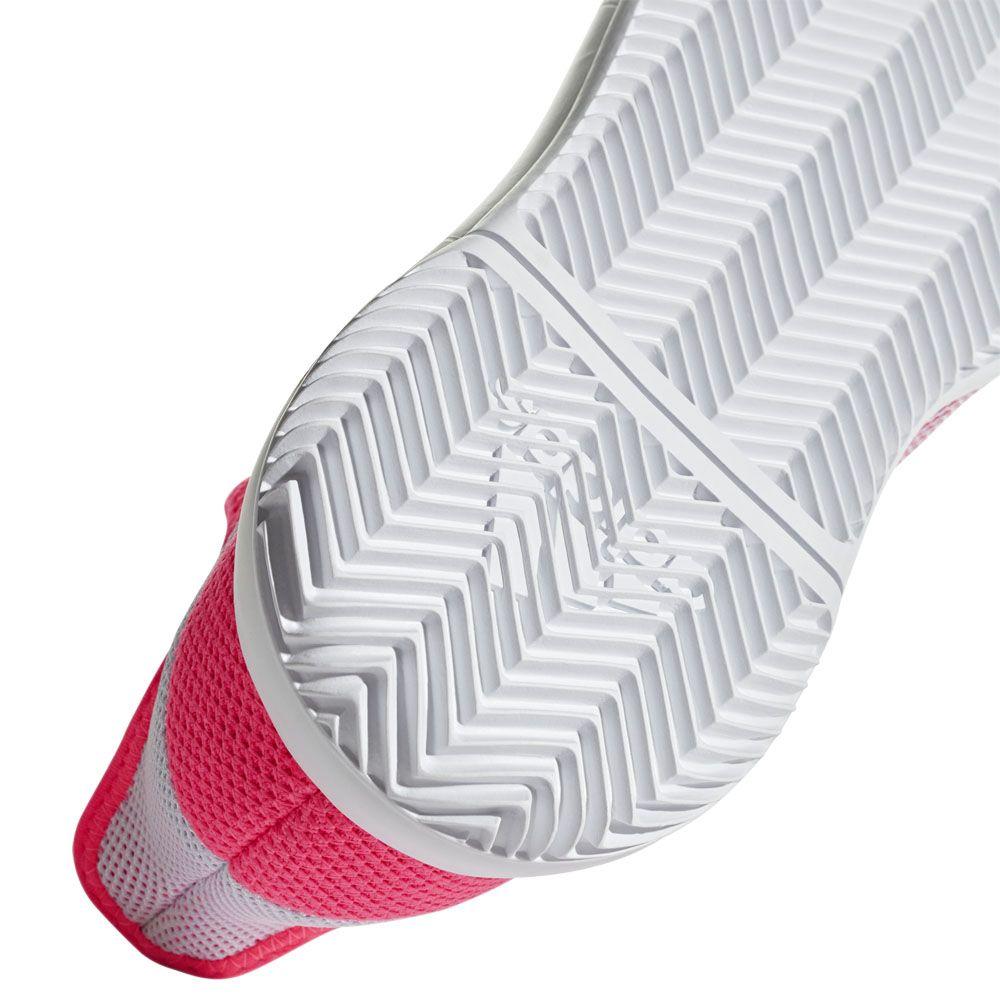 adidas Adizero Defiant Bounce Tennisschuhe Damen flash red footwear white scarlet