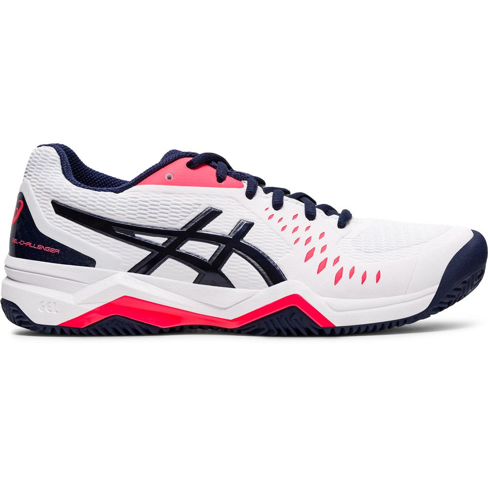 ASICS - Gel-Challenger 12 Clay Tennis Shoes Women white peacoat