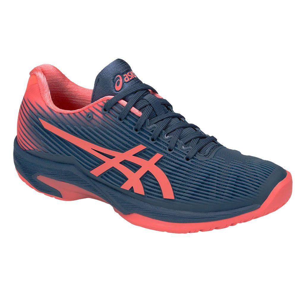 ASICS - Solution Speed FF Tennis Shoes Women shark papaya