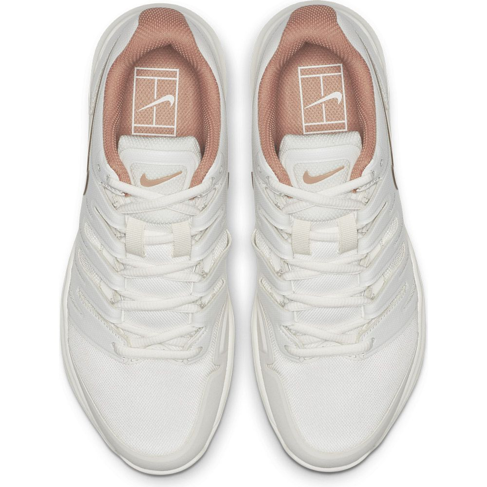 Nike Air Zoom Prestige Clay Tennisschuhe Damen phantom mtlc red bronze
