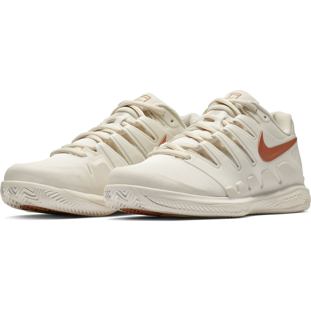 Nike Air Zoom Vapor X Clay Tennisschuhe Damen phantom mtlc rose gold