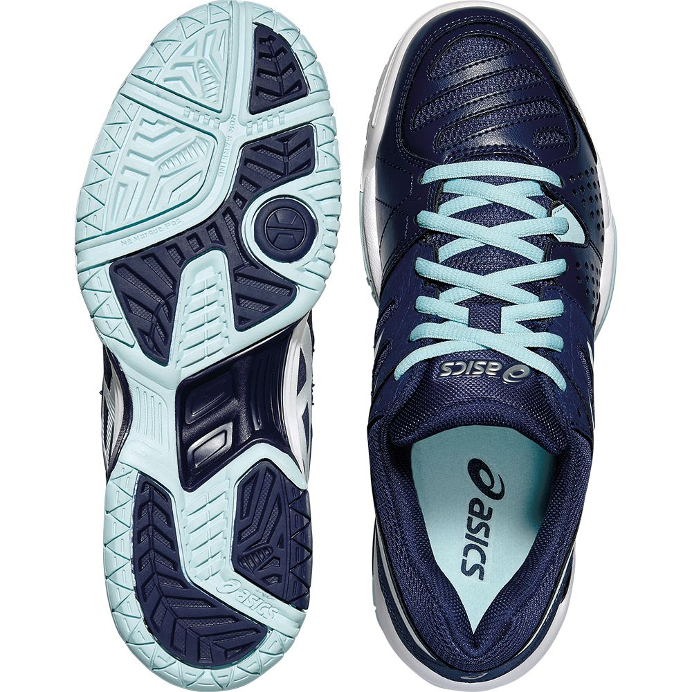 ASICS Gel Dedicate 4 Clay Tennisschuh Damen indigo blue
