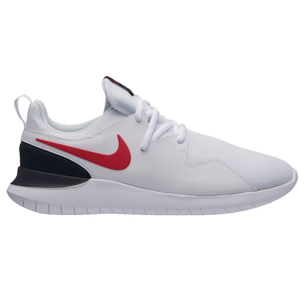 Nike - Tessen Sneakers Herren white university red-black