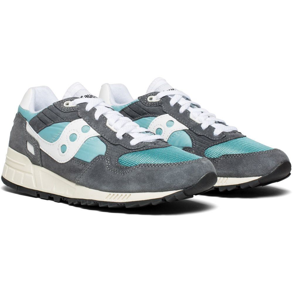 newest 0c6a6 00256 Saucony - Shadow 5000 Vintage Sneaker Men grey blue white
