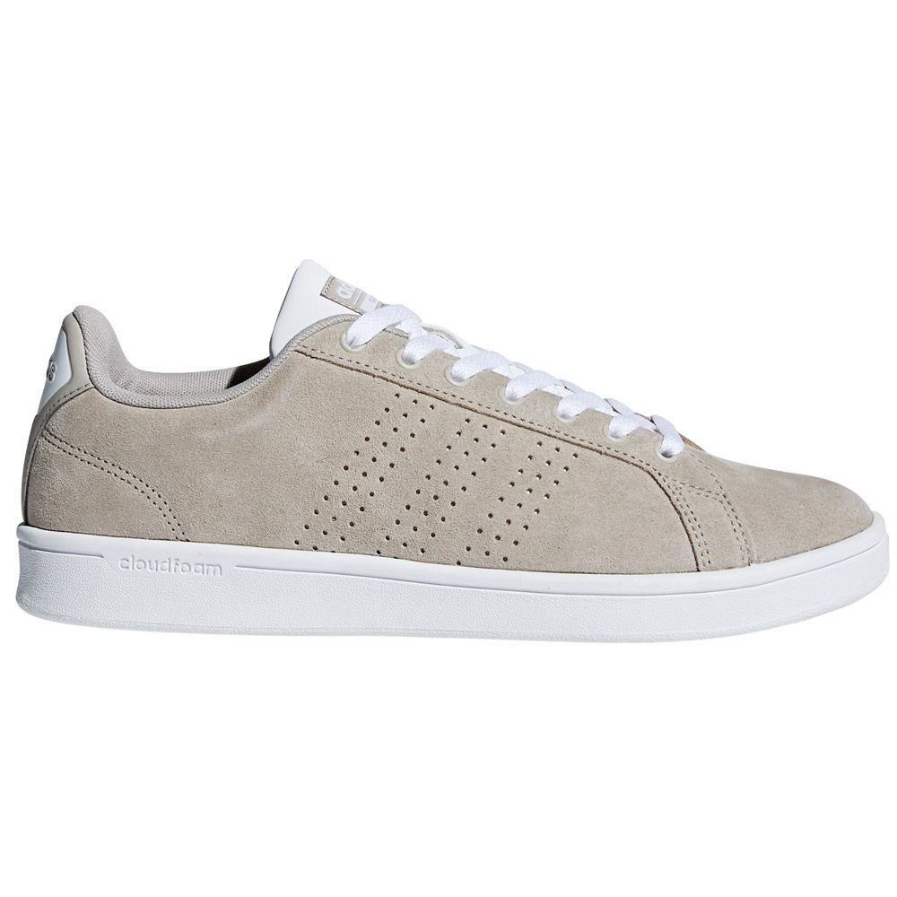 adidas Cloudfoam Advantage Clean Sneaker Herren light brown ftwr white