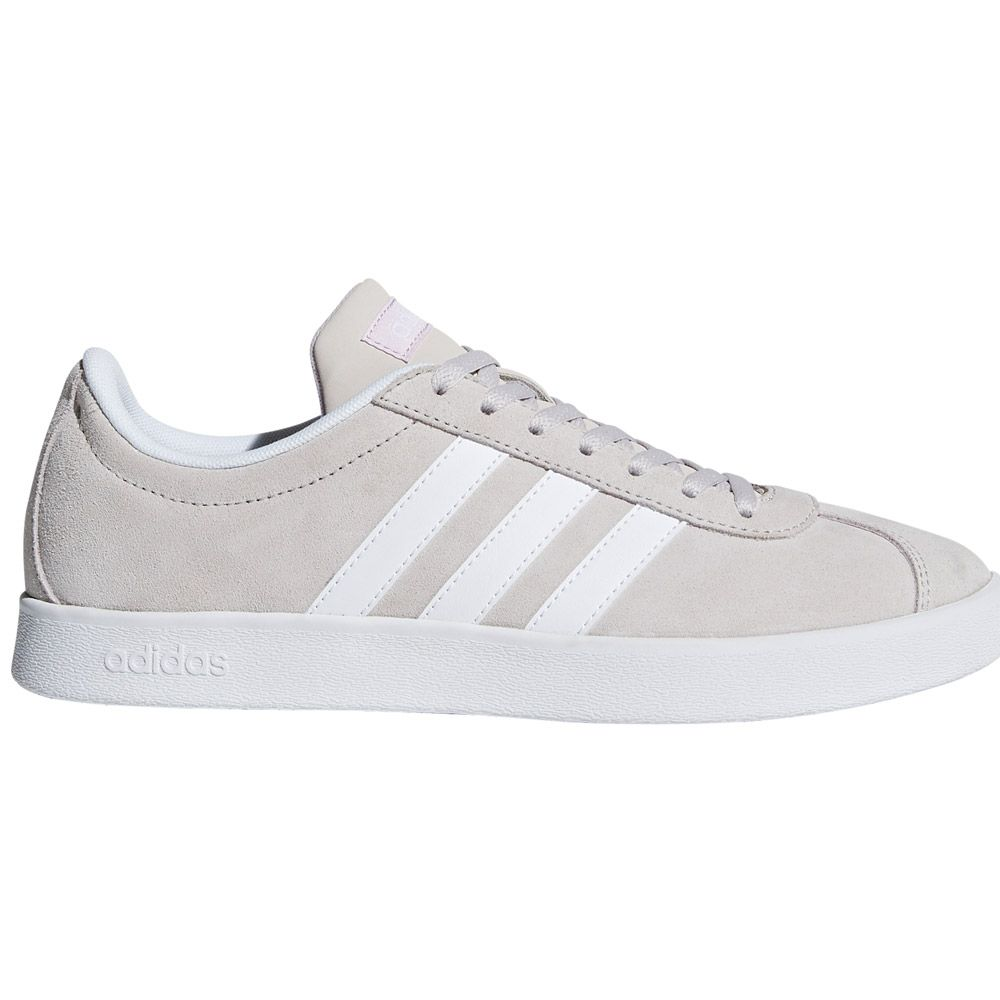 brand new a5152 6fee1 adidas VL Court 2.0 sneaker women chalk pearl ftwr white aero pink