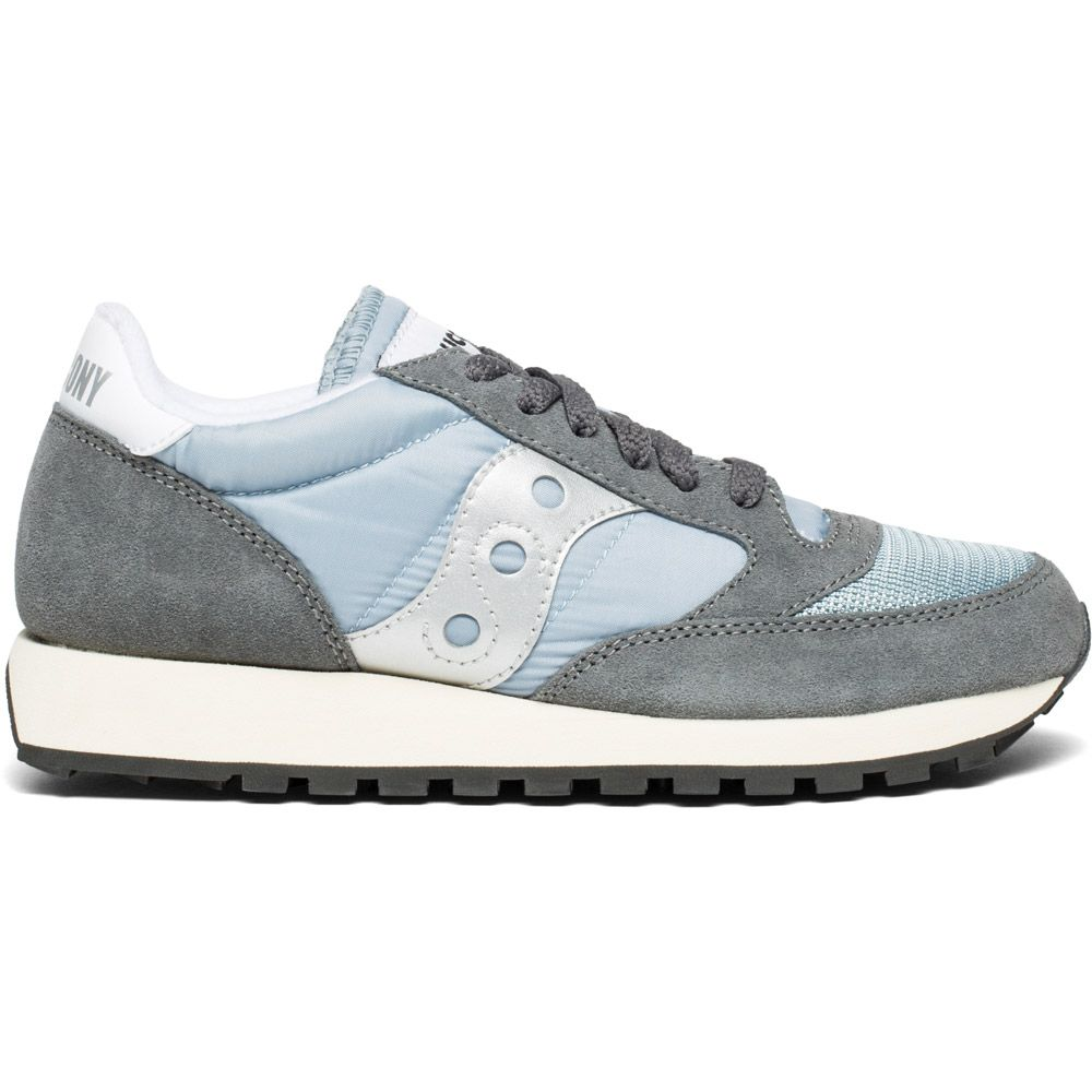 separation shoes 731c5 410f1 Saucony - Jazz Original Vintage Sneaker Women grey blue white