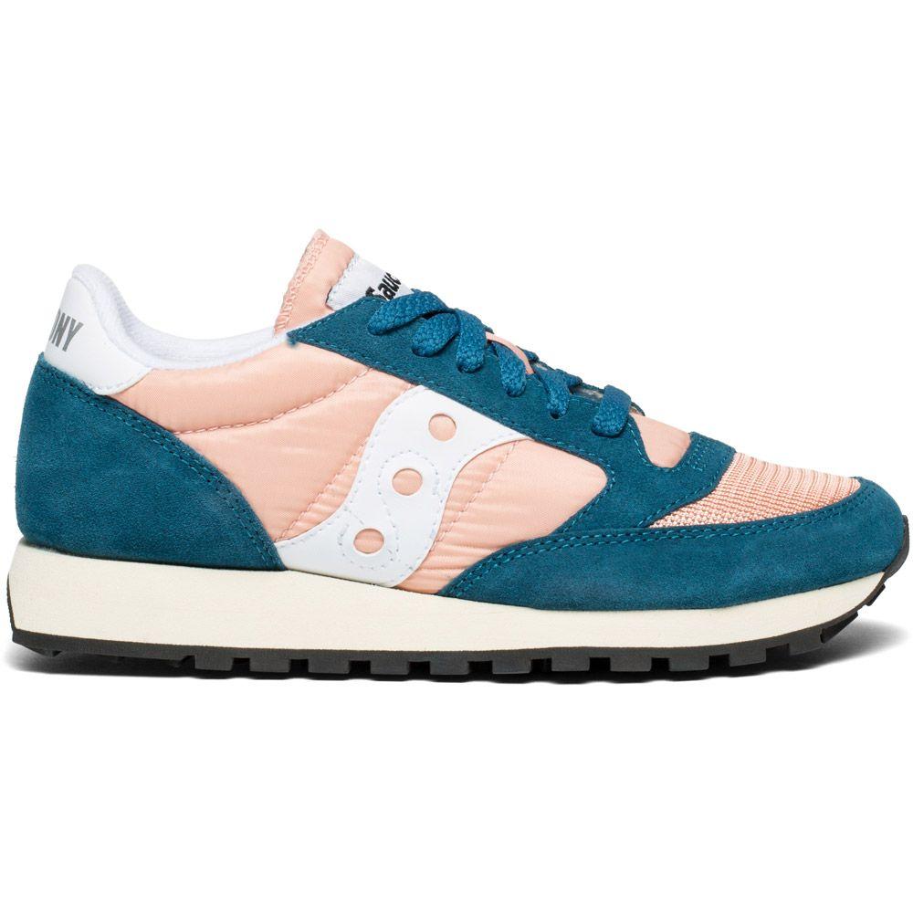 pretty nice b4e8c d41d6 Saucony - Jazz Original Vintage Sneaker Women teal peach