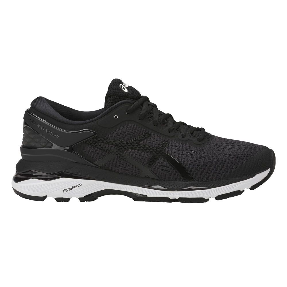 ASICS - Gel-Kayano 24 running shoes women black phantom ...
