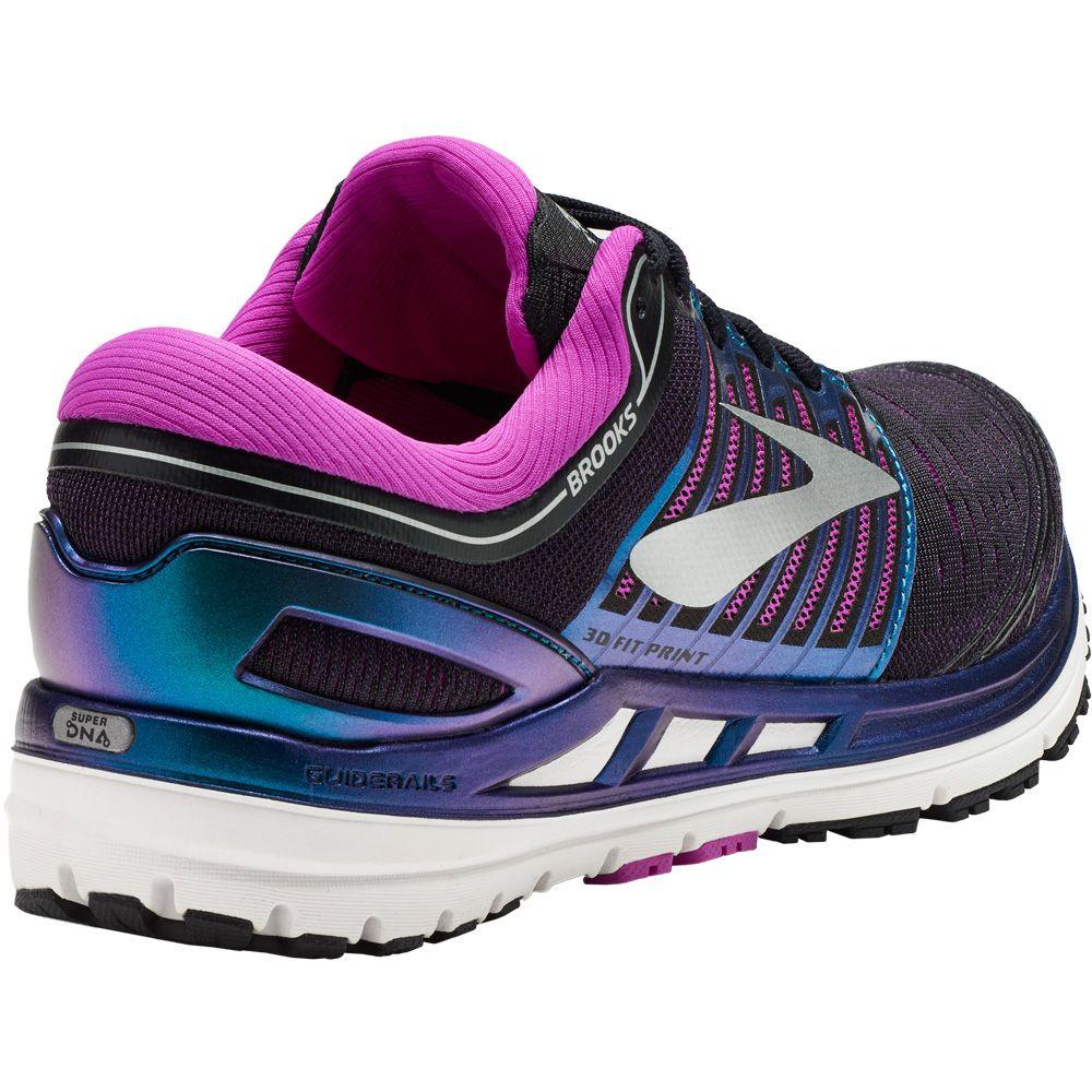 Brooks Transcend 5 Laufschuhe Damen plack purple