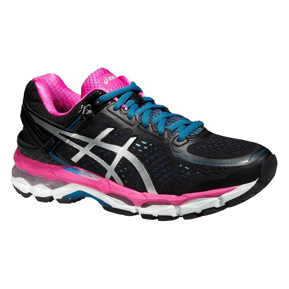 ASICS - Gel-Kayano 22 Running Shoe Women black pink at Sport ...