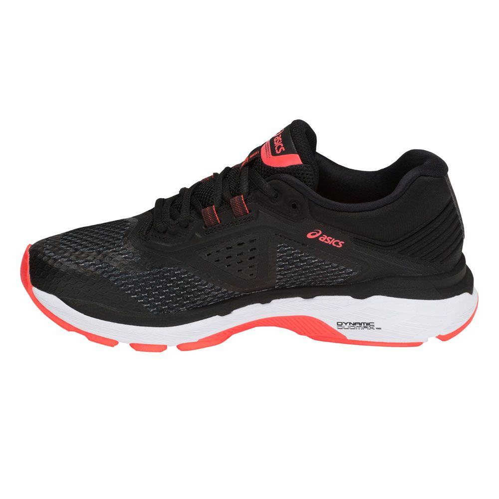 ASICS - GT-2000 6 Running Shoes Women black flash coral at ...