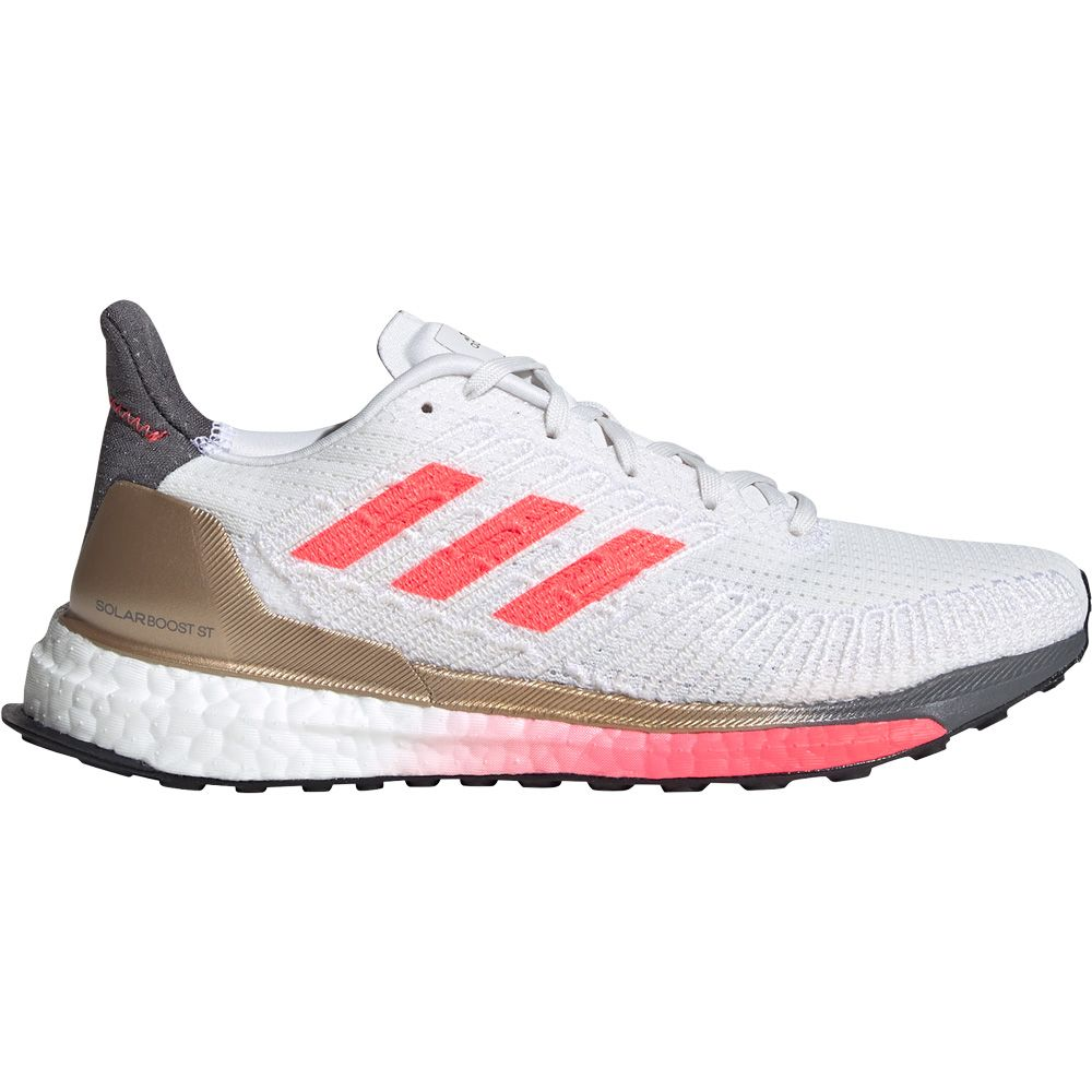 adidas Solarboost ST 19 Running Shoes Women crystal white signal pink copper metallic