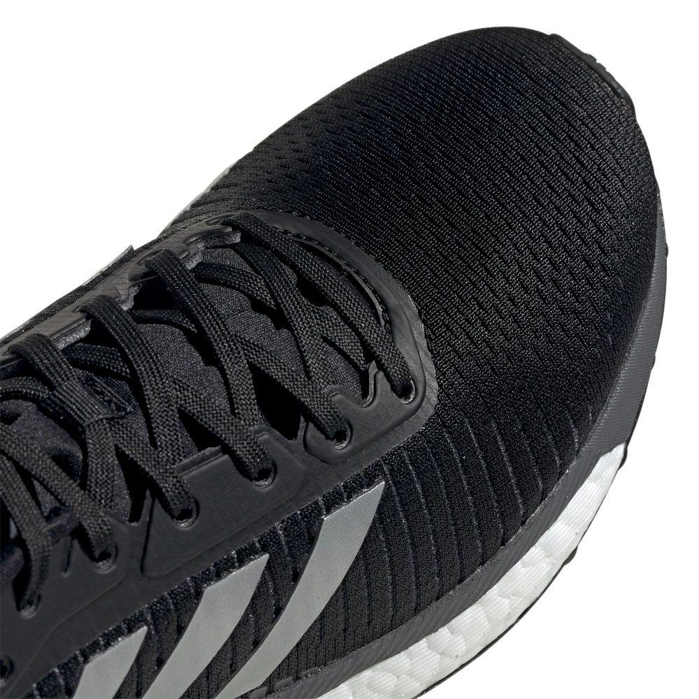 hot sale online f4653 71816 adidas - Solar Glide ST 19 Running Shoes Women core black silver metallic  grey five