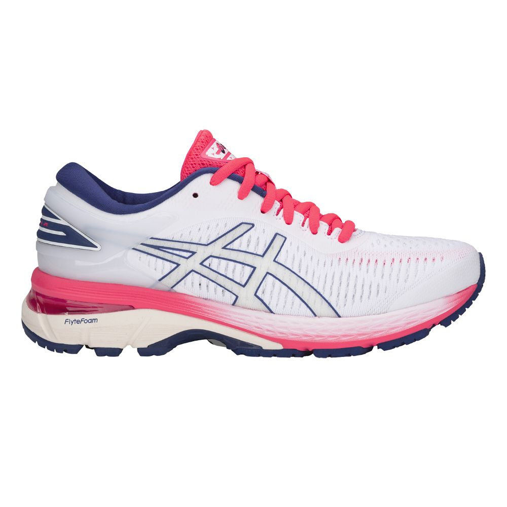 ASICS - GEL-Kayano 25 W running shoes women white at Sport ...