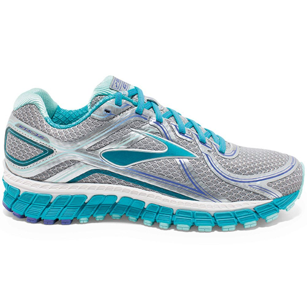 111c6cfd5495c Brooks - Adrenaline GTS 16 2A Running Shoes Women silver at Sport ...