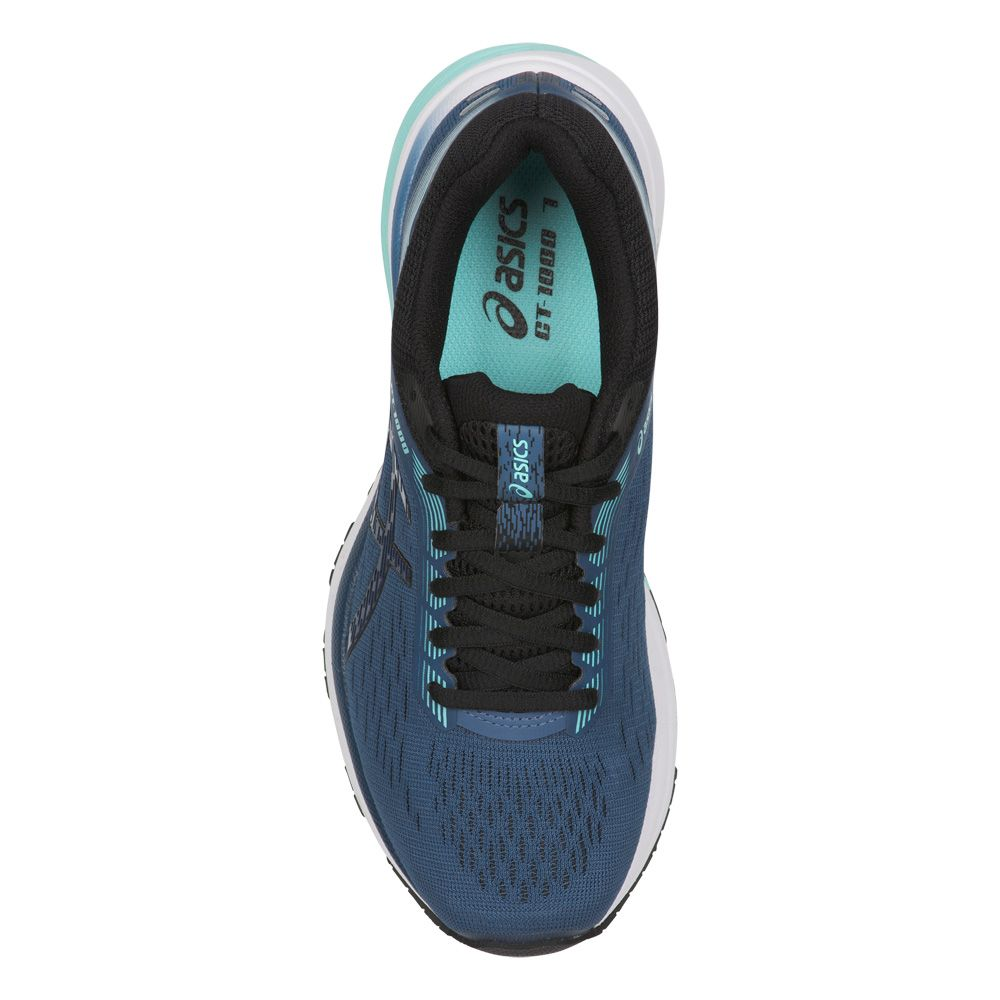 ASICS - GT-1000 7 Running Shoes Women grand shark black at ...