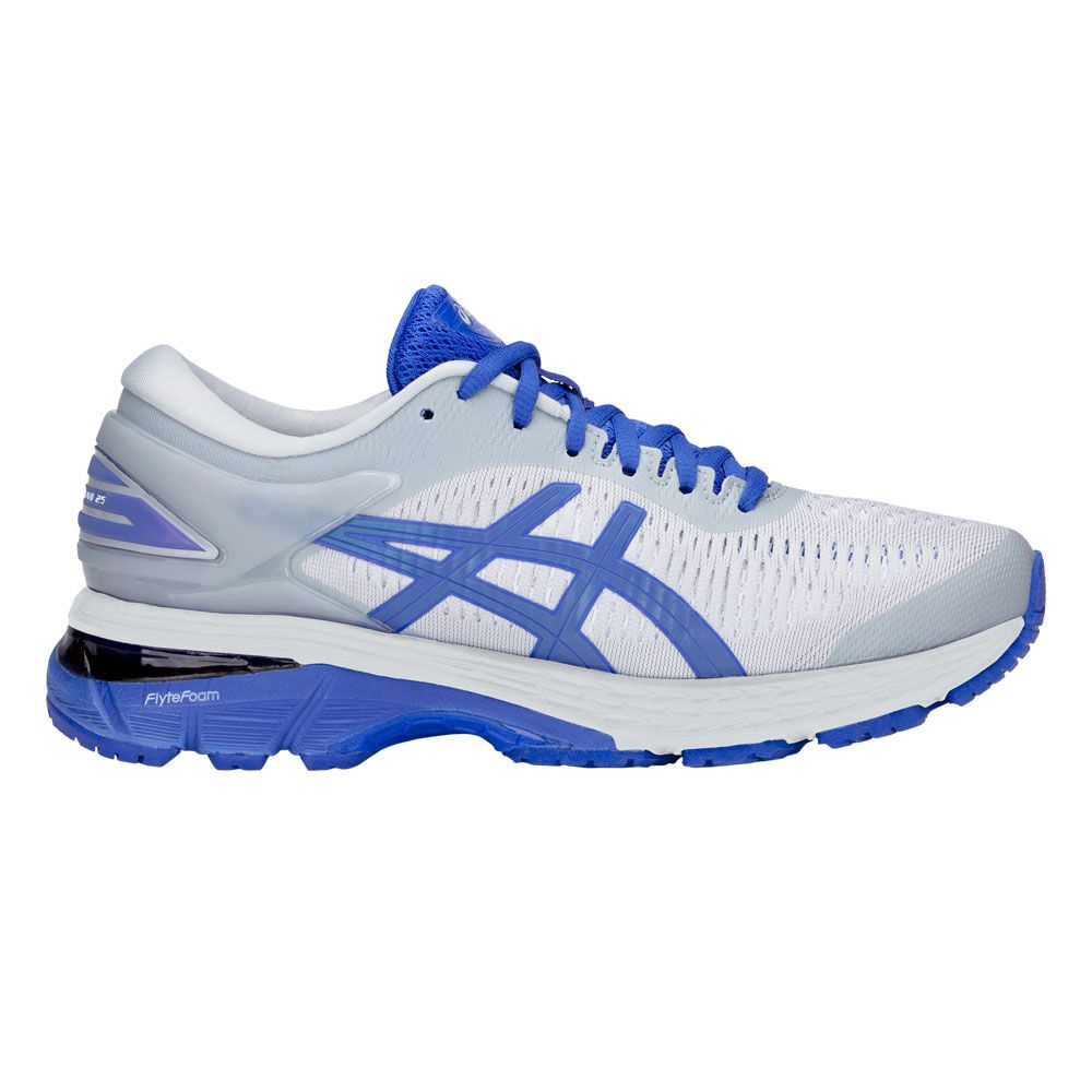 ASICS GEL Kayano 25 Lite Show Laufschuhe Damen mid grey illusion blue