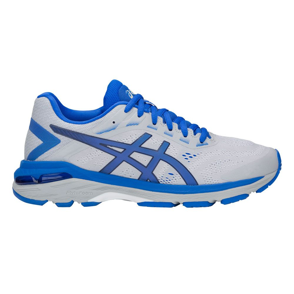 ASICS GT 2000 7 Lite Show Running Shoes Women mid grey illusion blue