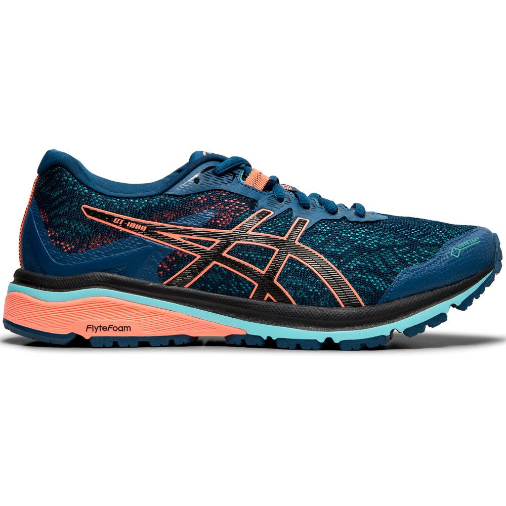 ASICS - GT-1000 8 G-TX Running Shoes Women mako blue black