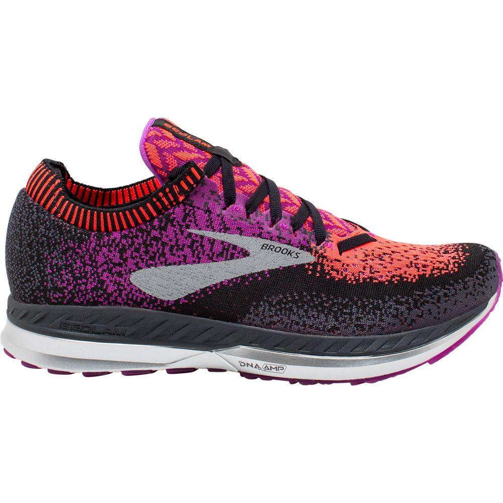 80f9748aafd71 Brooks - Bedlam Running Shoes Women black purple coral at Sport ...
