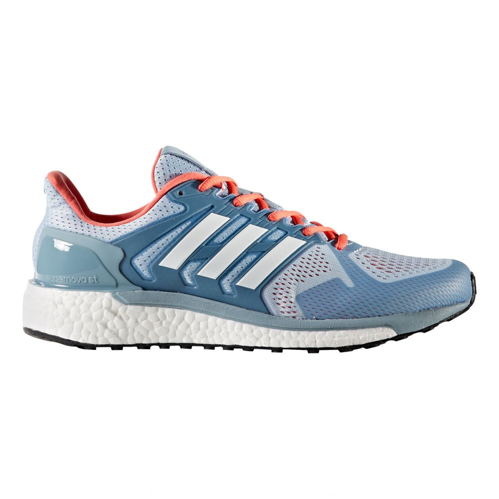 adidas - Supernova ST Running Shoes Women blue silver at ...