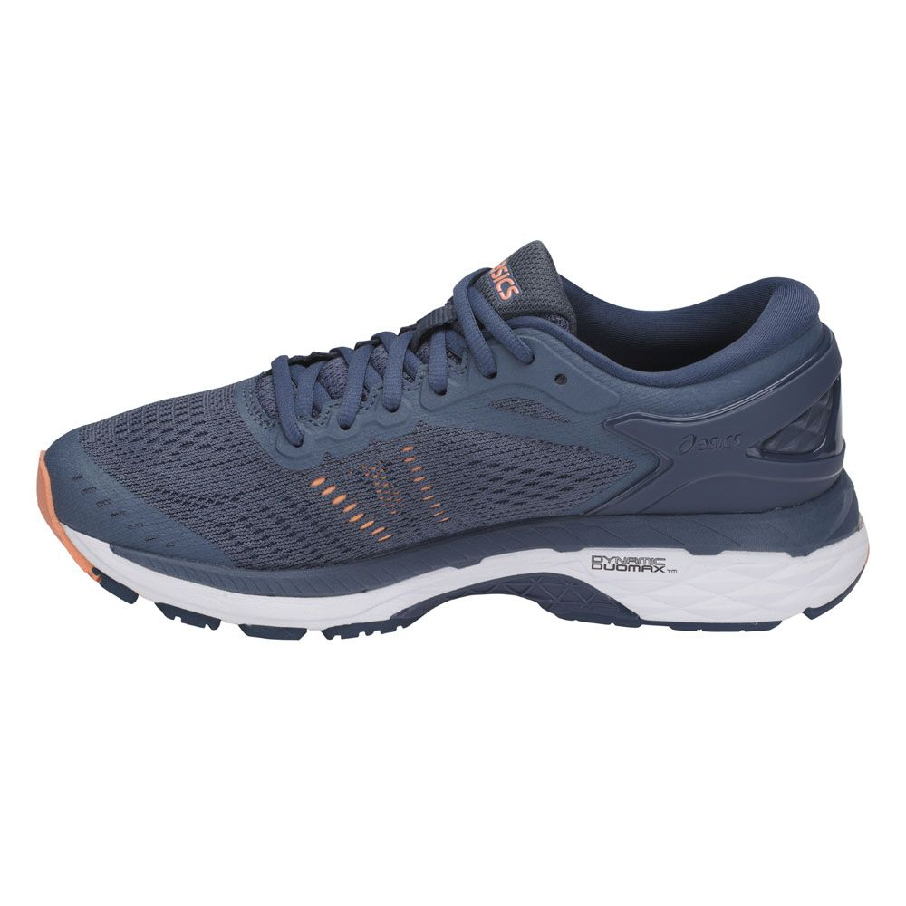 ASICS - Gel-Kayano 24 running shoes smoke blue at Sport ...
