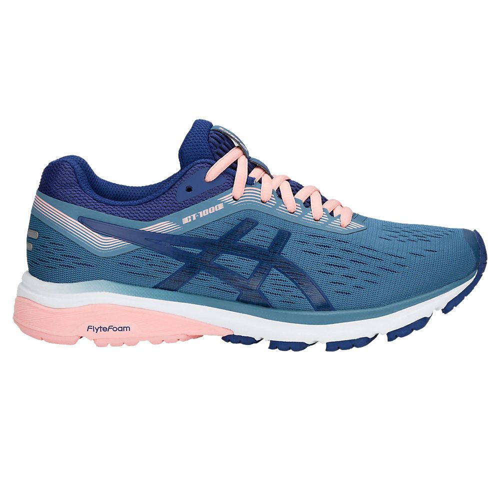 ASICS - GT-1000 7 W running shoes women azure blue at Sport ...