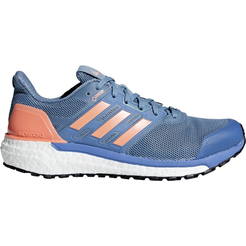 adidas Supernova GTX Running Shoes Men raw grey chalk coral real lilac