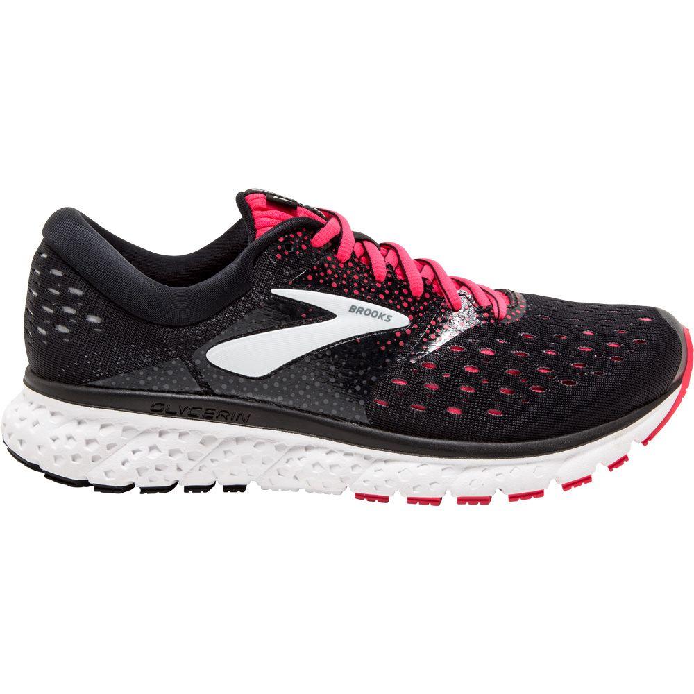 Running Shoes women black pink grey