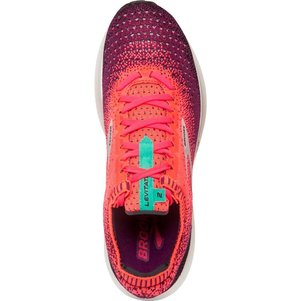 71f2c6a7a96 Brooks - Levitate 2 Running Shoes Women pink black aqua at Sport ...