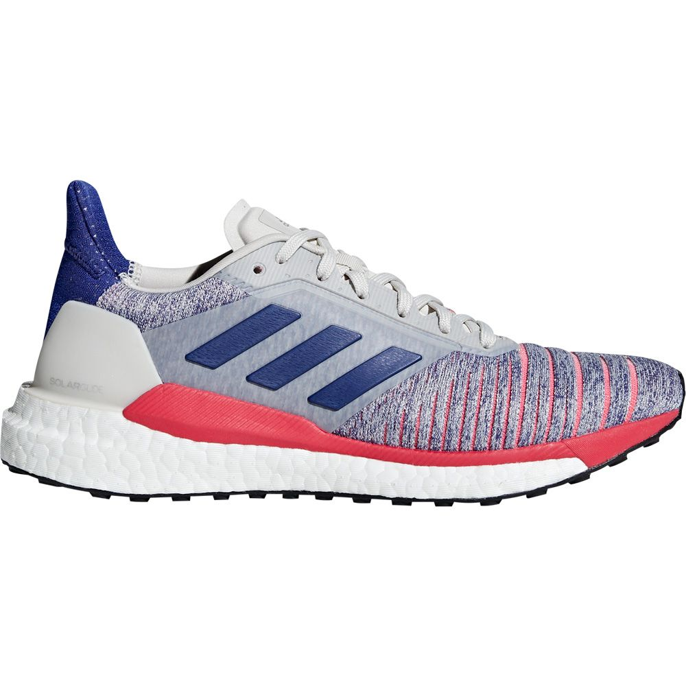 separation shoes c69d0 c0e9c adidas Solar Glide Shoes Women raw white active blue shock red
