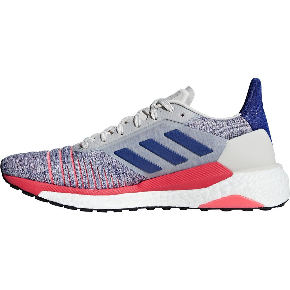 adidas Solar Glide Shoes Women raw white active blue shock red