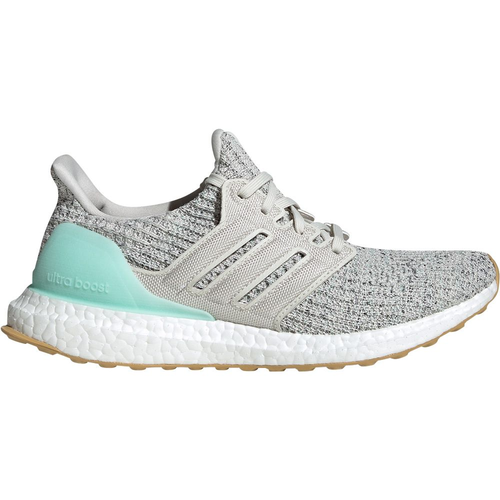 adidas UltraBoost Running Shoes Women clear mint raw white carbon