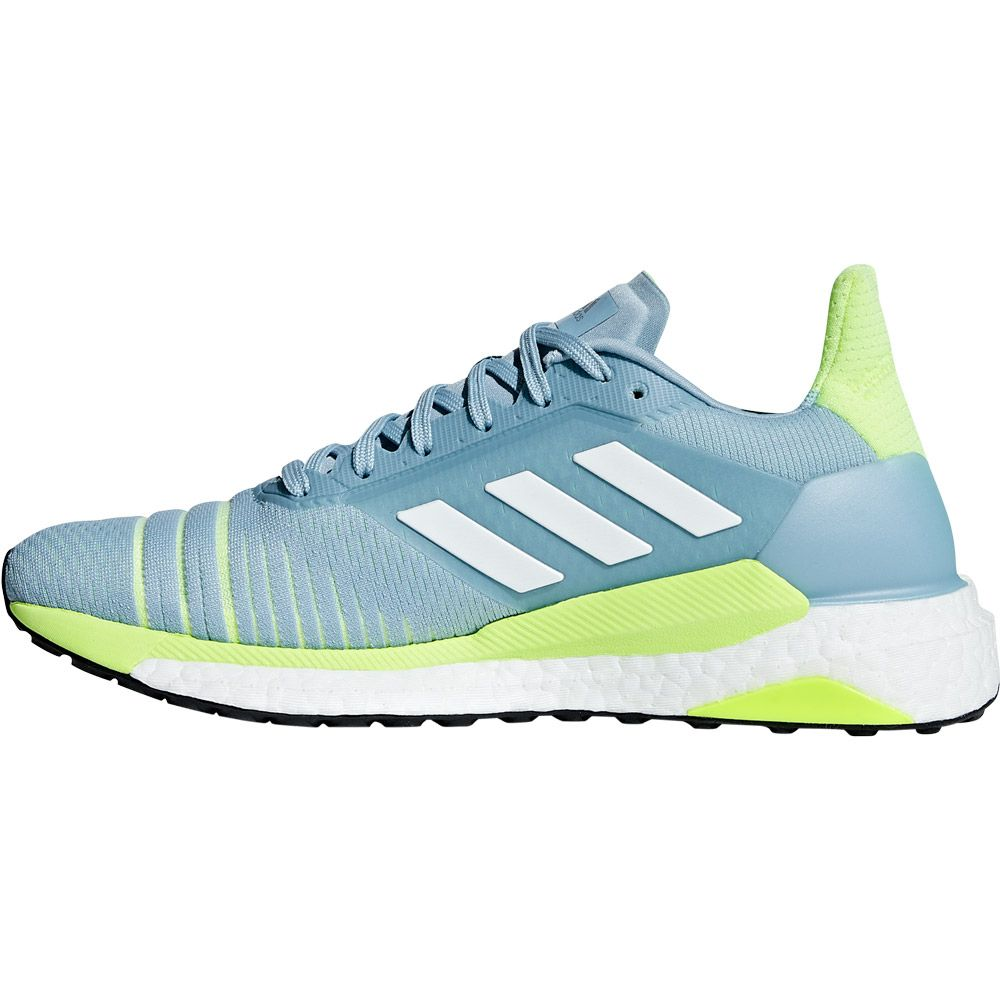 adidas Solar Glide Running Shoes Women ash grey footwer white hi res yellow