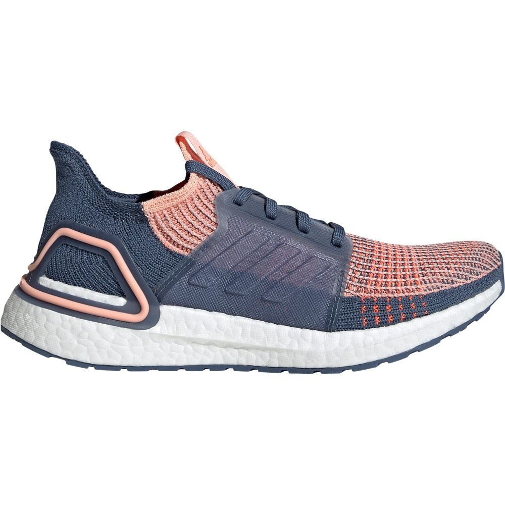 adidas - Ultraboost 19 Running Shoes Women glow pink tech ink solar orange