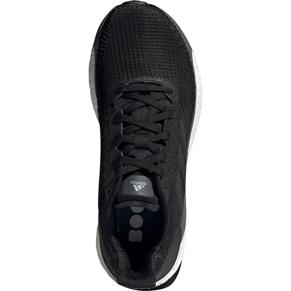 adidas Solar Boost 19 Runningschuhe Core Black Carbon Grey Five | 7,5 (UK)