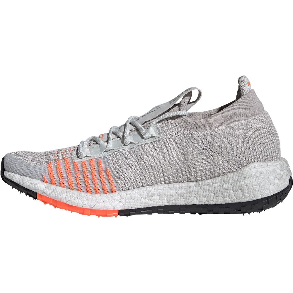 adidas PulseBoost HD Running Shoes Women grey one footwear white hi res coral