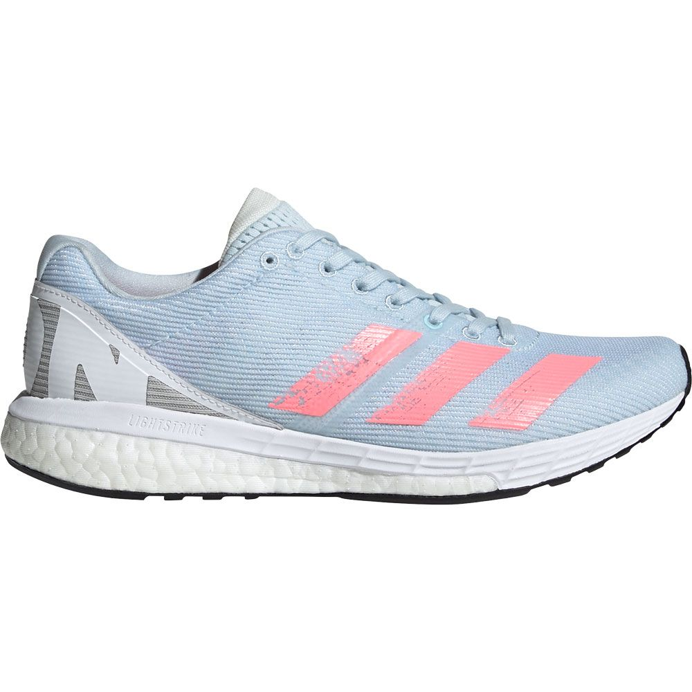 adidas Adizero Boston 8 Shoes Women sky tint light flash