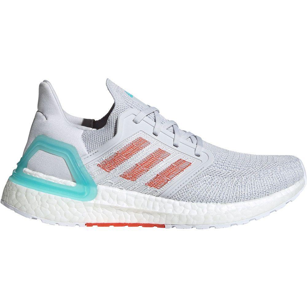 adidas Primeblue Ultraboost 20 Running Shoes Women dash grey true orange blue spirit