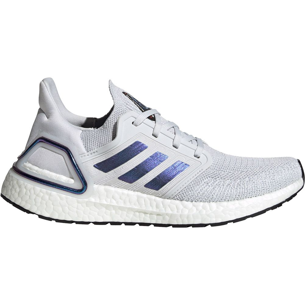 adidas Ultraboost 20 Running Shoes Women dash grey boost blue violet metallic core black