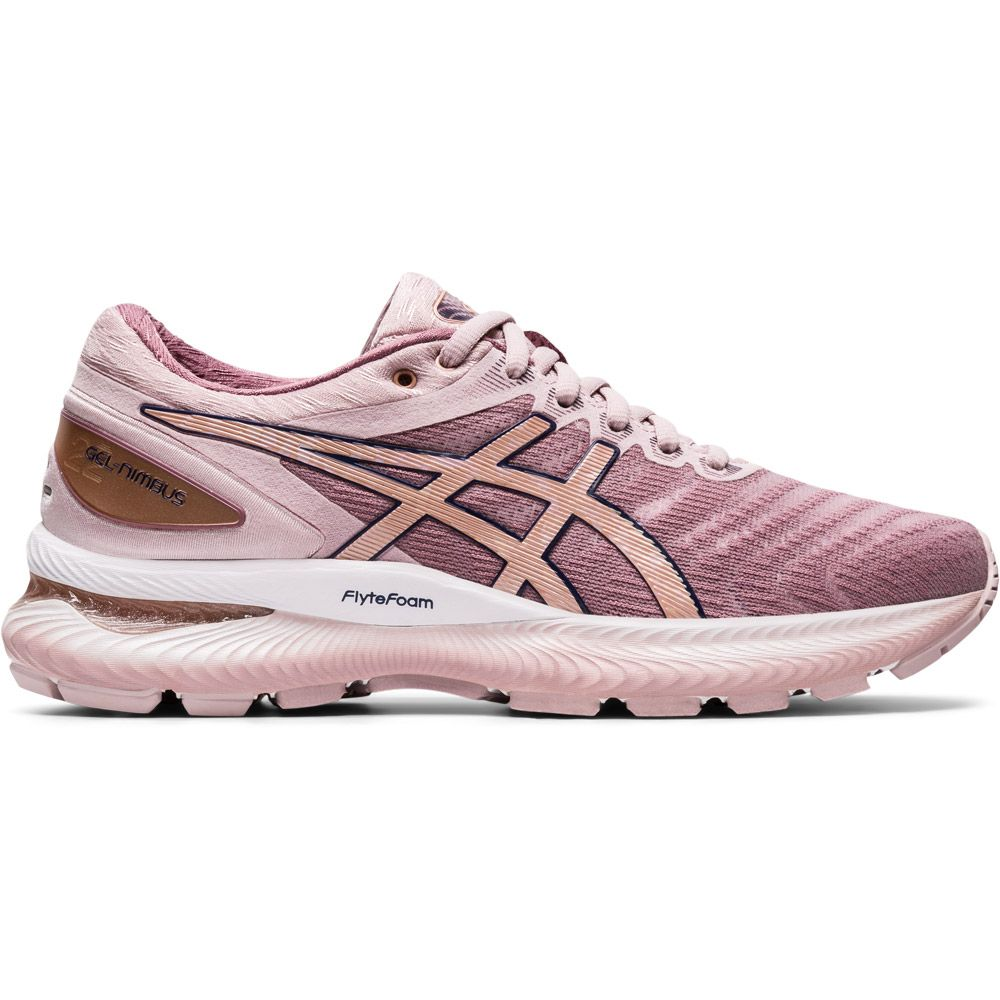 ASICS - Gel-Nimbus 22 Running Shoes Women watersed rose rose gold