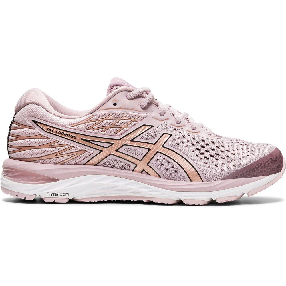 ASICS - Gel-Cumulus 21 Shine Running Shoes Women watershed rose rose gold
