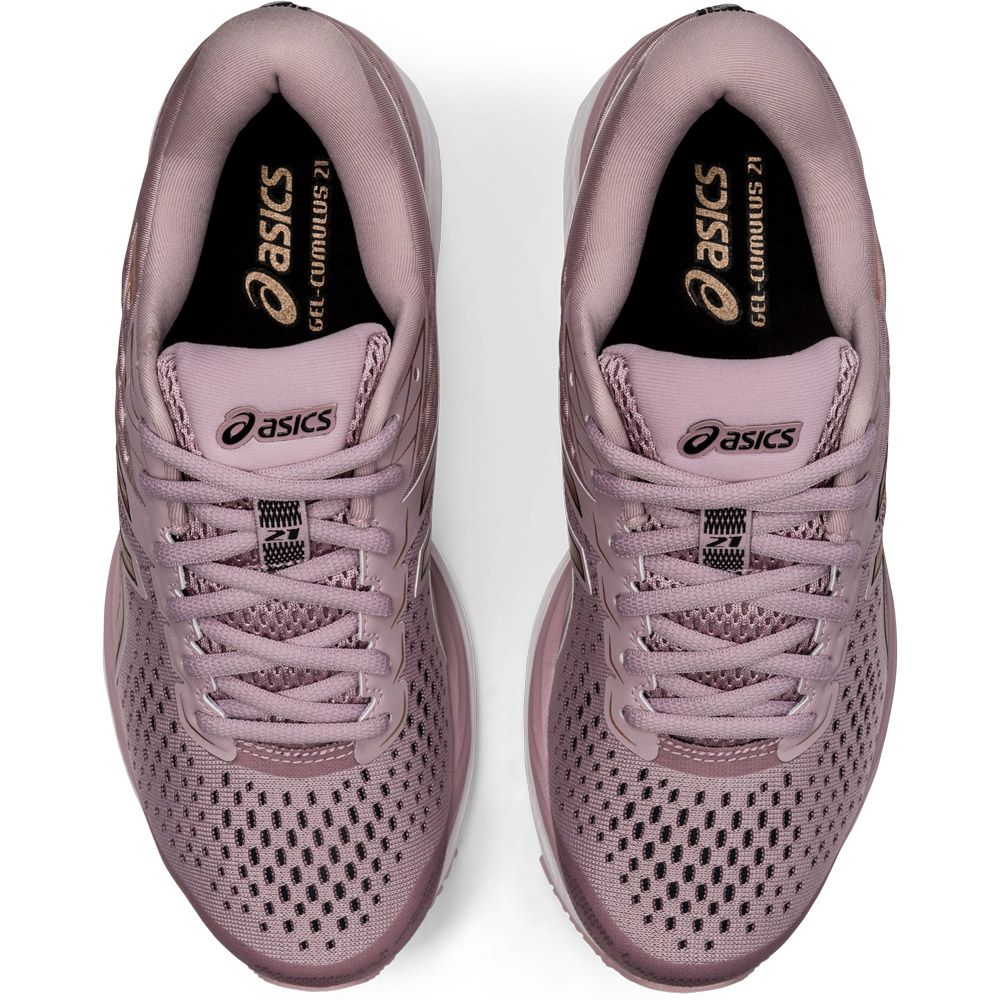 ASICS - Gel-Cumulus 21 Shine Running Shoes Women watershed rose rose gold