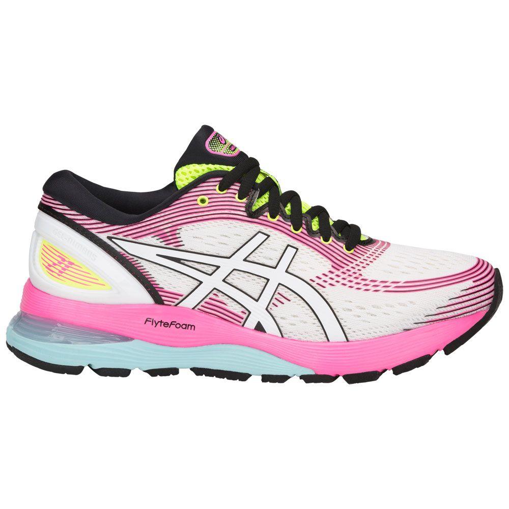 ASICS - Gel-Nimbus 21 Running Shoes Women cream white at ...