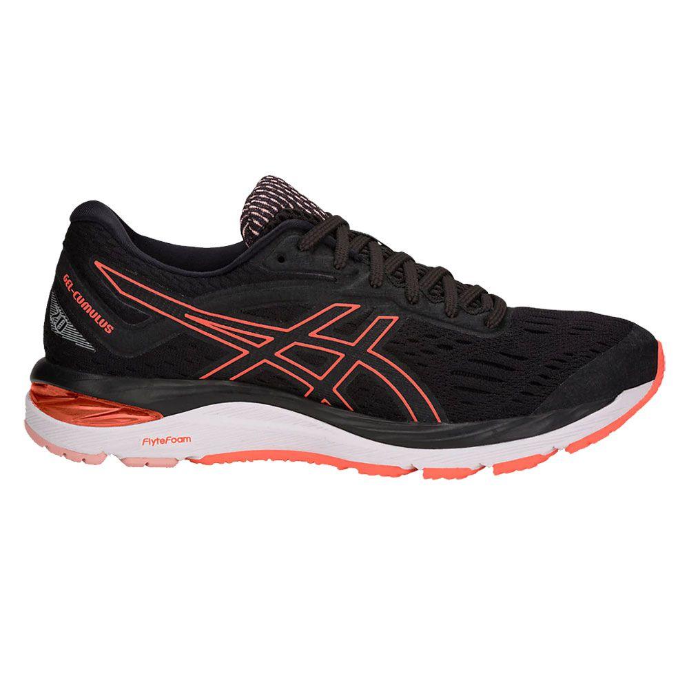 ASICS - Gel-Cumulus 20 Running Shoes Women black flash coral