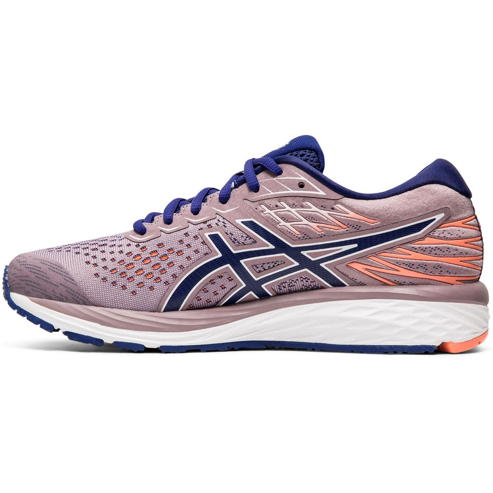 ASICS - Gel-Cumulus 21 Shine Running Shoes Women violet blush dive blue
