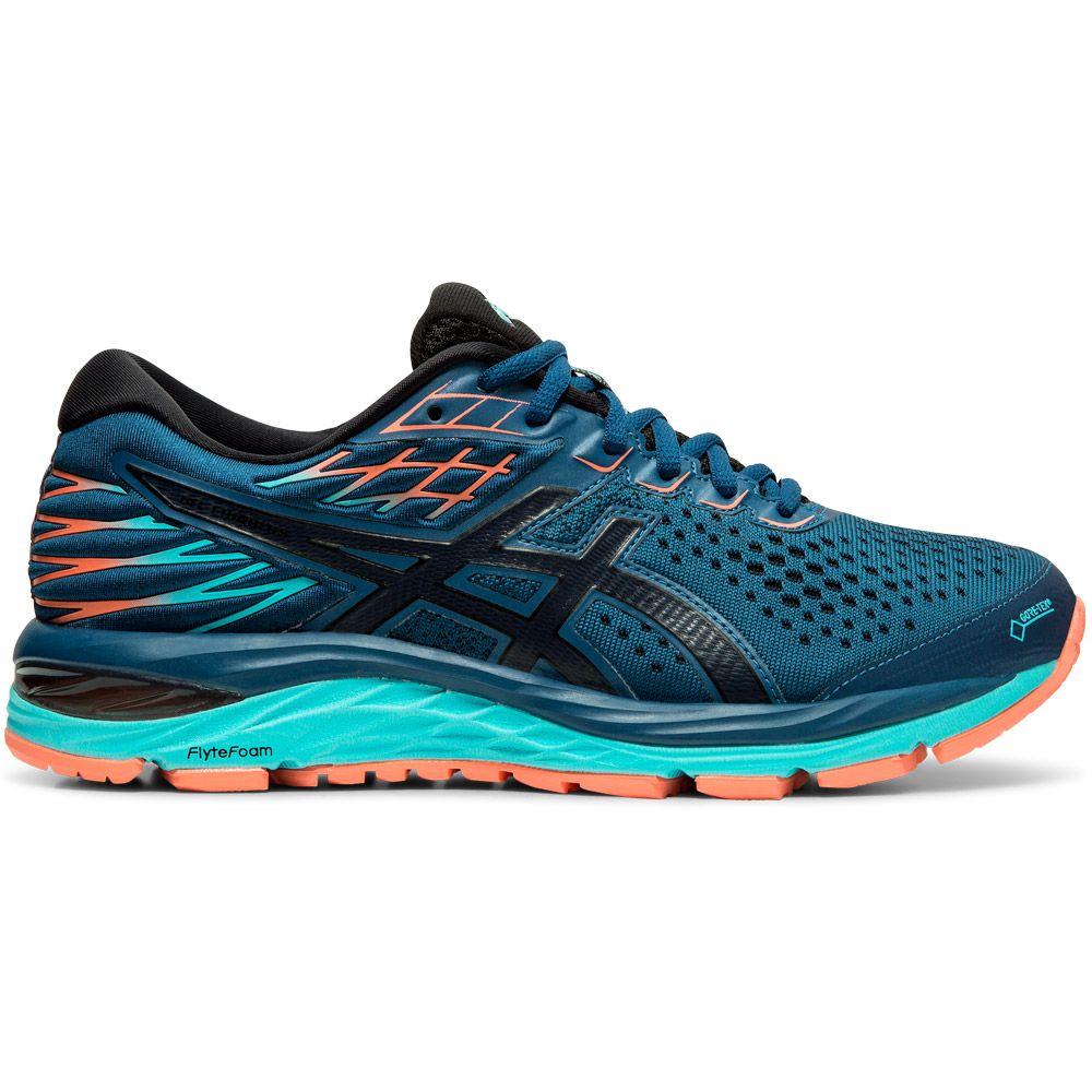 ASICS - Gel-Cumulus 21 G-TX Running Shoes Women mako blue ...